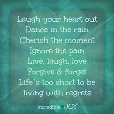 Discover and share Joy Inspirational Quotes. Explore our collection of motivational and famous quotes by authors you know and love. Joy Quotes, Pain Quotes, Happiness Quotes, Forgive And Forget, Don't Forget, Dance Quotes, Joy Of Life, Happy Life, Popular Quotes