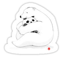 Bear Hug Sticker