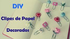 DIY: Clipes de Papel Decorados (Especial Volta às Aulas - Back to School)