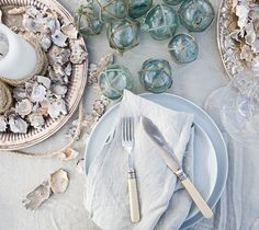 Sea Shells and Glass Baubles