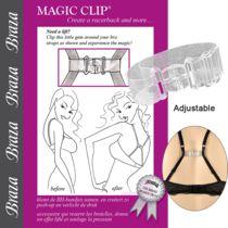 Braza Magic Clip Bra Clip-Clear  #braza @Braza Bra #magicclip #unmentionables