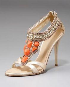 Giuseppe Zanotti - Embellished High-Heel Sandal - Bergdorf Goodman