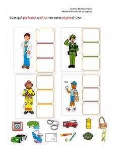 Preschool Learning Activities, Preschool Activities, Helper Jobs, Transportation Worksheet, English Grammar For Kids, Toddler Art Projects, English Classroom, Busy Book, Puzzles For Kids