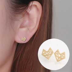 Good Kinel 2018 Cheap Punk Style Metal Big Drop Earring For Women Personality Round Statement Fashion Dubai Gold Party Jewelry Skillful Manufacture Furniture