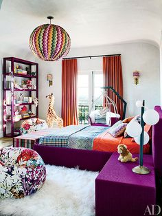 From People.com: Inside Ellen Pompeo's Colorful Rooms for Daughters Stella and Sienna