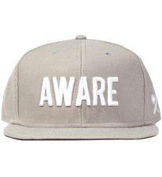 Us Versus Them Grey Aware Snapback Ballcap