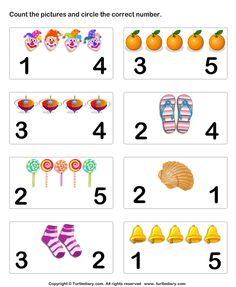 number matching worksheet 6 preschool math count numbers and pictures Numbers Preschool, Learning Numbers, Math Numbers, Math Activities, Preschool Activities, Pre K Math Worksheets, Matching Worksheets, Math For Kids, Math Centers