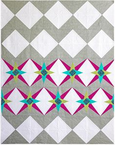 Chevron Star PDF Pattern - Freshly Pieced Quilt Patterns - $7.99