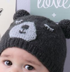Modèle bonnet ourson Layette - Modèles Layette - Phildar