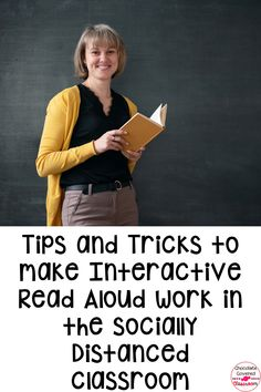 This blog post is all about making interactive read aloud lessons work in a socially distanced classroom. I provide five tips to making these reading activities effective and meaningful for students, even when distanced. These tips are perfect for any teacher who teaches reading workshop! 5th grade, 4th grade and 3rd grade teachers will love these free teaching tips. These classroom management strategies are perfect for upper elementary teachers, new and veteran! #readingteachers #fifthgrade New Teachers, Elementary Teacher, Upper Elementary, Reading Activities, Teaching Reading, Similes And Metaphors, Interactive Read Aloud, Classroom Management Strategies, Readers Workshop