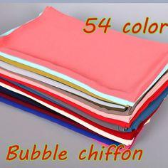High quality plain bubble chiffon printe solid color shawls headband beach popular hijab summer muslim scarves/scarf 10pcs/lot