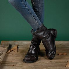Cheap shoes fashion, Buy Quality fashion winter boots directly from China winter boots Suppliers: 2017 Ladies fashion boots pleated black ankle boots low heel women autumn winter boots casual shoes