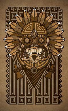 Mayan illustration