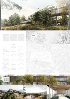 of YAC Announces the Winners of Castle Resort Competition - 42 YAC Announces the Winners of Castle Resort Image Courtesy of YACYAC Announces the Winners of Castle Resort Image Courtesy of YAC Architecture Panel, Architecture Visualization, Japanese Architecture, Architecture Design, Architecture Diagrams, Landscape Architecture Portfolio, Presentation Board Design, Architecture Presentation Board, Architectural Presentation