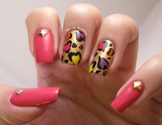 Gems in a Bottle VALENTINE #nail #nails #nailart