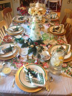 spode christmas tree table settings - Google Search