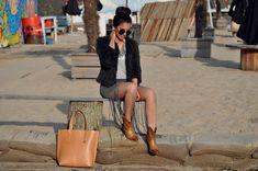Ankle boots brown - Bruine enkellaarsjes https://www.sacha.nl