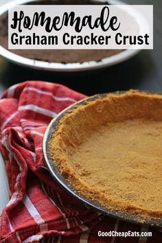homemade graham cracker crust homemade graham cracker crust good cheap ...