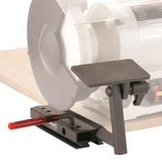 setting up the tool rest on a bench grinder - by thedude50 @ LumberJocks.com ~ woodworking community