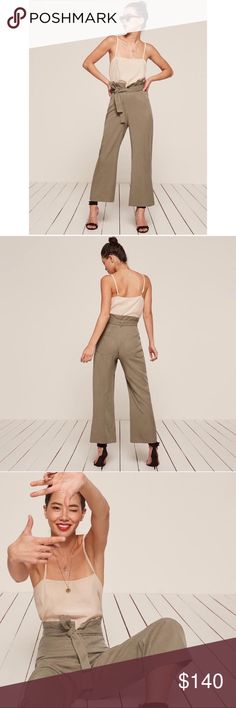 NWTS reformation gaucho pants size 2 NWTS reformation gaucho pants size 2 Reformation Pants