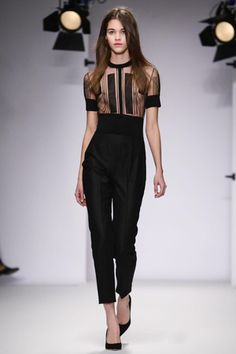 Jasper Conran Ready To Wear Fall Winter 2014 London - NOWFASHION