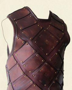 Plated Armour – diagonal plates
