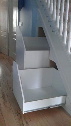 Adorable Storage Ideas For Under Stairs 12 Understairs Storage adorable Ideas stairs storage Staircase Storage, Attic Storage, Staircase Design, Attic Spaces, Attic Rooms, Attic Bathroom, Small Spaces, Attic Renovation, Attic Remodel