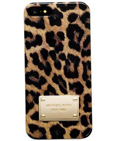 MICHAEL Michael Kors iPhone 5 Case, Cheetah Print - Tech Cases & Accessories - Handbags & Accessories - Macy's