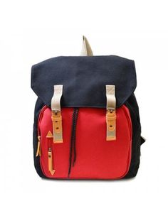 ec9d5219f08428 Casual Buckles and Color Block Design Backpack For Men