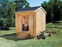 How to Build the Simple Storage Shed (8x10)