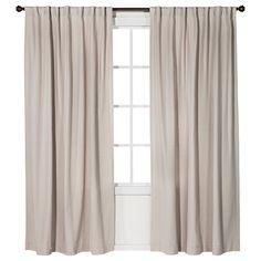 Nate Berkus� Linen Weave Curtain Panel