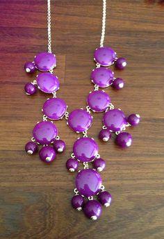 Allison Lauren Big Purple necklace  #Necklace #Affordable #Jewelry #AllisonLauren  www.AZFoothills.com