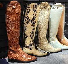Love these riding boots seen at the 2014 World Cup! Photos & Video | The Chronicle of the Horse