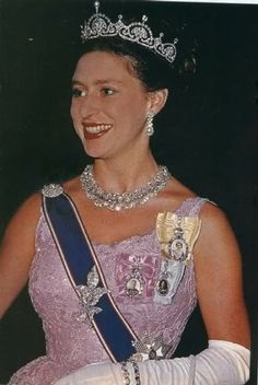 The Queen mother gave the tiara to her daughter Princess Margaret, in 1959, before she married Antony Armstrong-Jones. It became one of her more frequently worn tiaras
