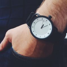 (236) Fancy - White No.1 Military Wristwatch by TID Watches