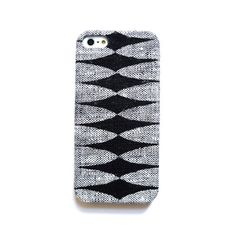 Geometric iPhonce case, Linen iPhone case, iPhone 4 case, iPhone 4s case, iPhone 5 case, Natural iphone case, Fall iPhone case
