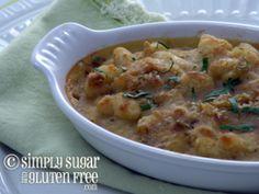 Recipe for Gluten Free, Sugar Free Recipe for Gluten-Free, Sugar-Free White Bean Gratins
