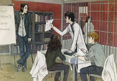 It's not lupus! by AnastasiaMantihora  HP + House M.D. crossover :) Snape as House, Harry as Foreman, Hermione as Cameron, Ron as Chase