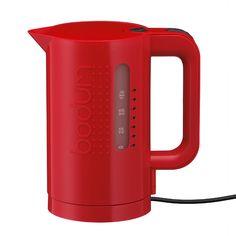 Bistro Elektrisk Vannkoker 1 L, Rød, Bodum