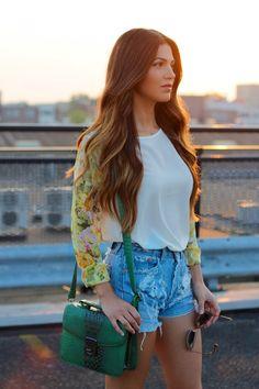 Floral Sunset | Negin Mirsalehi