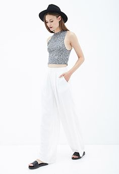 Pleated Wide Leg Pants from Forever 21 $24,80
