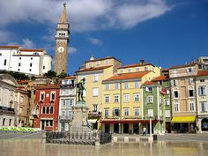 Pirano, Slovenia - Italia prior to WWII. One of my favorite places in the world!