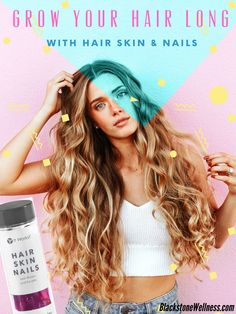 Get started on the path to health! Grow Long Nails, It Works Distributor, Models Needed, Healthier Hair, Wellness Products, Hair Skin Nails, Biotin, Grow Hair, Live For Yourself