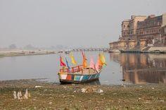 Vrindavana: Keshi Ghat, Cheer Ghat, Bihar Ghat, Jagannath Ghat, Shringar Bat and Kalidaha Ghat: waterless!