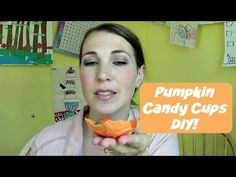 Pumpkin Candy Cups | Pintober - YouTube