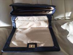 Interior of Kate Spade Cross Body Bag never used NAVY  Emerson Place Vivenna Mini Crossbody Bag