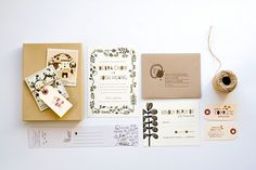 This was such a unique and fun wedding suite I worked on last year with the talented and very funny bride, Debra Chow and brilliant event designer, Rebecca from Duet Weddings. Debra is an illustrator and animator and she created the sweetest and most hysterical polroid illustration series of her and Josh's relationship/life that was sent in a box along with the tags and invitations I designed. PURE JOY.