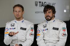 Fernando Alonso And Jenson Button Mclaren Honda 2015 Red Bull, Tag Heuer Formula, Limited Edition Watches, Luxury Watch Brands, Citizen Watch, Important Dates, Alonso, Formula One, Chef Jackets