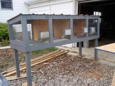 You are in the right place about Rabbit hutches with tray Here we offer you the most beautiful pictures about the Rabbit hutches you are looking for. When you examine the part of the picture you can g Rabbit Cages Outdoor, Outdoor Rabbit Hutch, Indoor Rabbit, Show Rabbits, Meat Rabbits, Raising Rabbits, Rabbit Pen, Rabbit Farm, Rabbit Hutch Plans