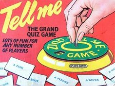 Tell me game, 1960s